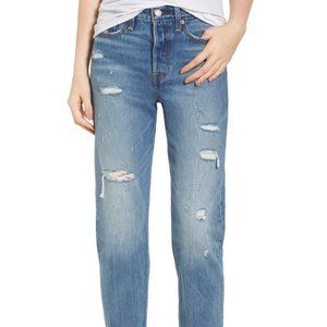 Levi's Wedgie High Waisted Crop Jeans